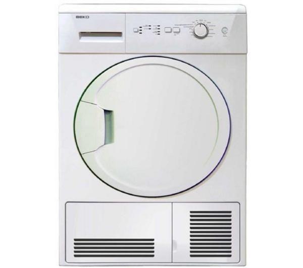 BEKO DCU8230 Condenser Tumble Dryer - White