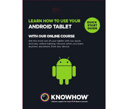 KNOWHOW eLearning - Android Tablet & Chromecast
