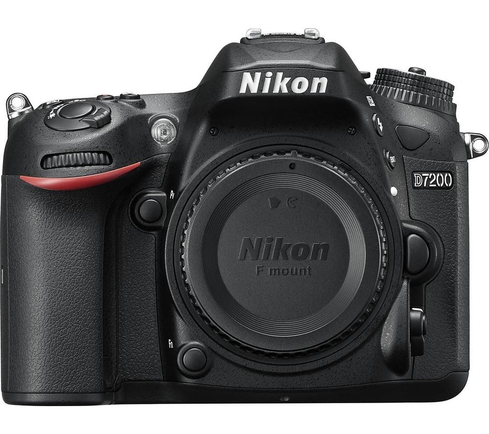 NIKON D7200 DSLR Camera - Black, Body Only