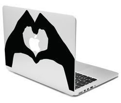 "CASEIT 13"" MacBook Decal - Heart Hands"