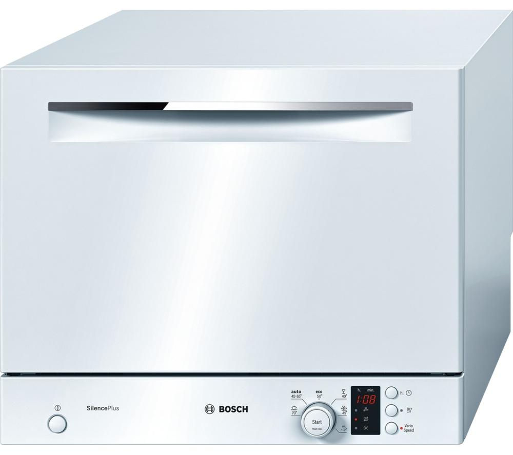 How To Buy Dishwasher Buy Bosch Sks62e22eu Compact Dishwasher White Free Delivery