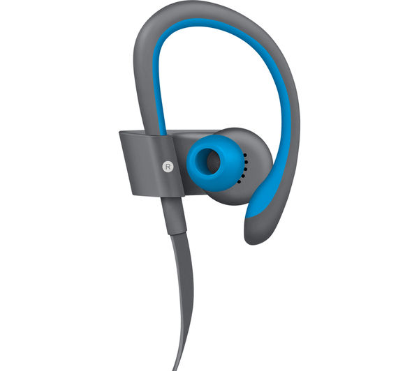 Image of BEATS BY DR DRE Powerbeats² Wireless Bluetooth Headphones - Active Collection, Blue