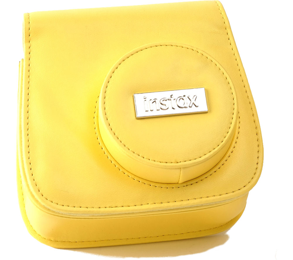 FUJIFILM P10GFC0009A Instax Mini8 Camera Case - Yellow