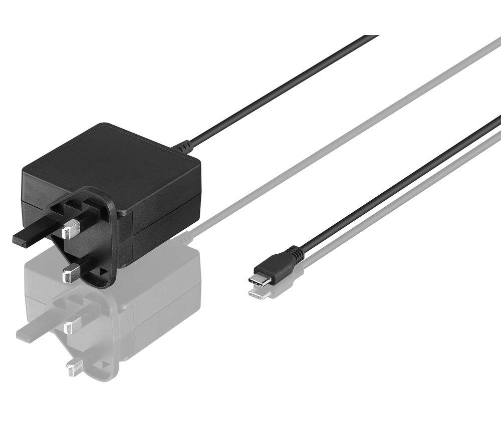 LOGIK LPTC45W16 Laptop Power Adapter - 1.8 m
