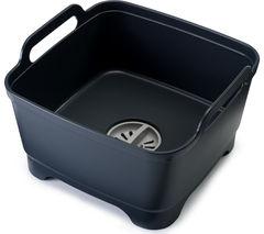 JOSEPH JOSEPH Wash & Drain Washing Up Bowl - Grey
