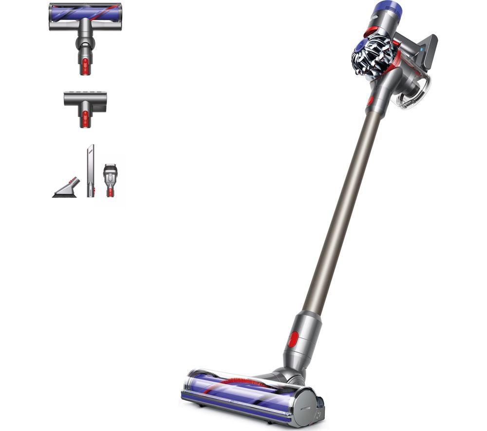 DYSON  V8 Animal Cordless Vacuum Cleaner  Nickel Iron & Titanium Titanium