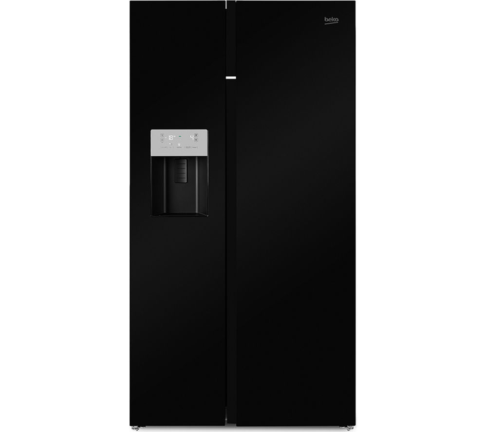buy beko asgn542b american style fridge freezer black. Black Bedroom Furniture Sets. Home Design Ideas