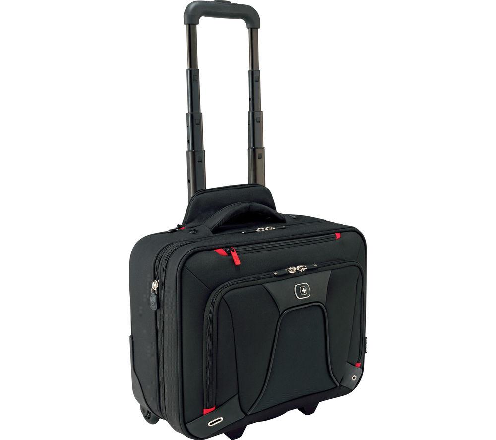 "WENGER Transfer 16"" Laptop Roller Case- Black"