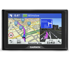 "GARMIN Drive 50 LM UK 5"" Sat Nav - with UK & ROI Maps & Carrying Case"