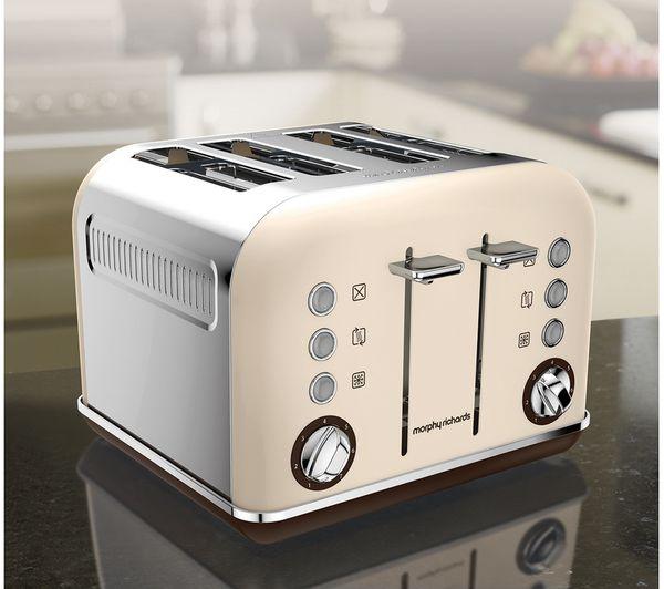 Slicwe Morphy Richards Toaster 4: Buy MORPHY RICHARDS Accents 242101 4-Slice Toaster