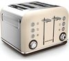 MORPHY RICHARDS Accents 242101 4-Slice Toaster - Sand