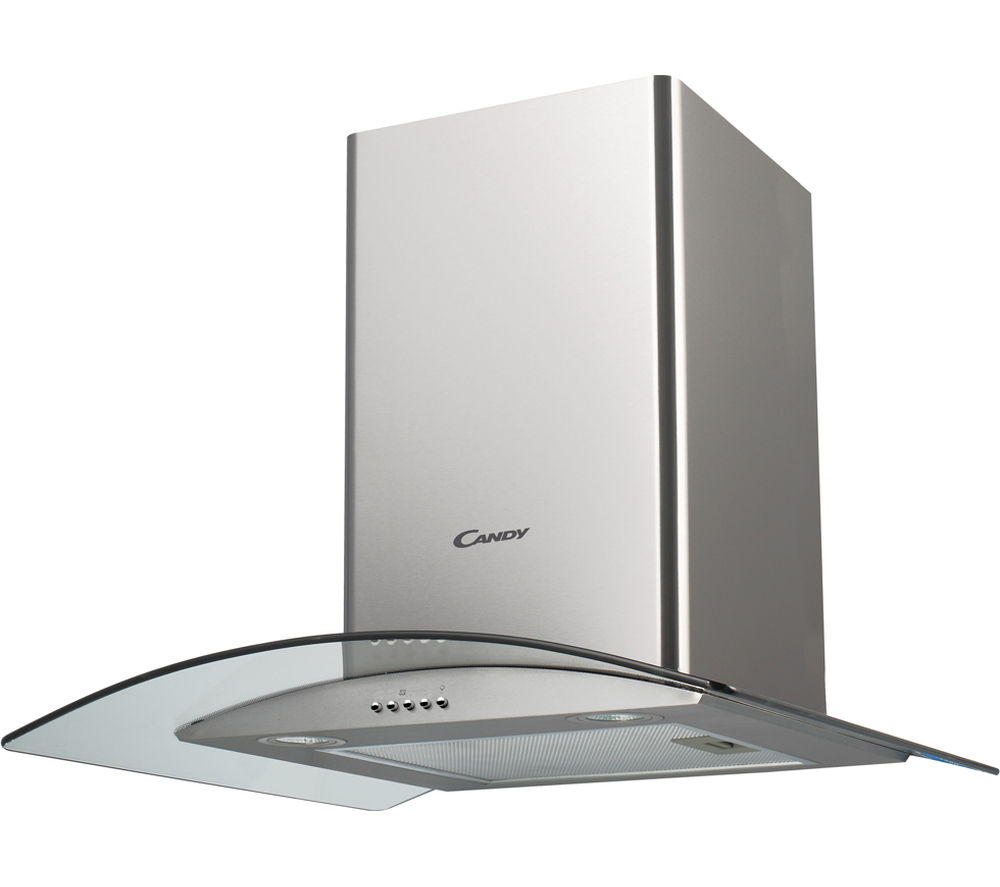 buy candy cgm61 1x chimney cooker hood stainless steel. Black Bedroom Furniture Sets. Home Design Ideas