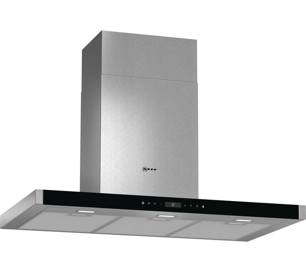 buy neff d79mt62n1b chimney cooker hood stainless steel. Black Bedroom Furniture Sets. Home Design Ideas
