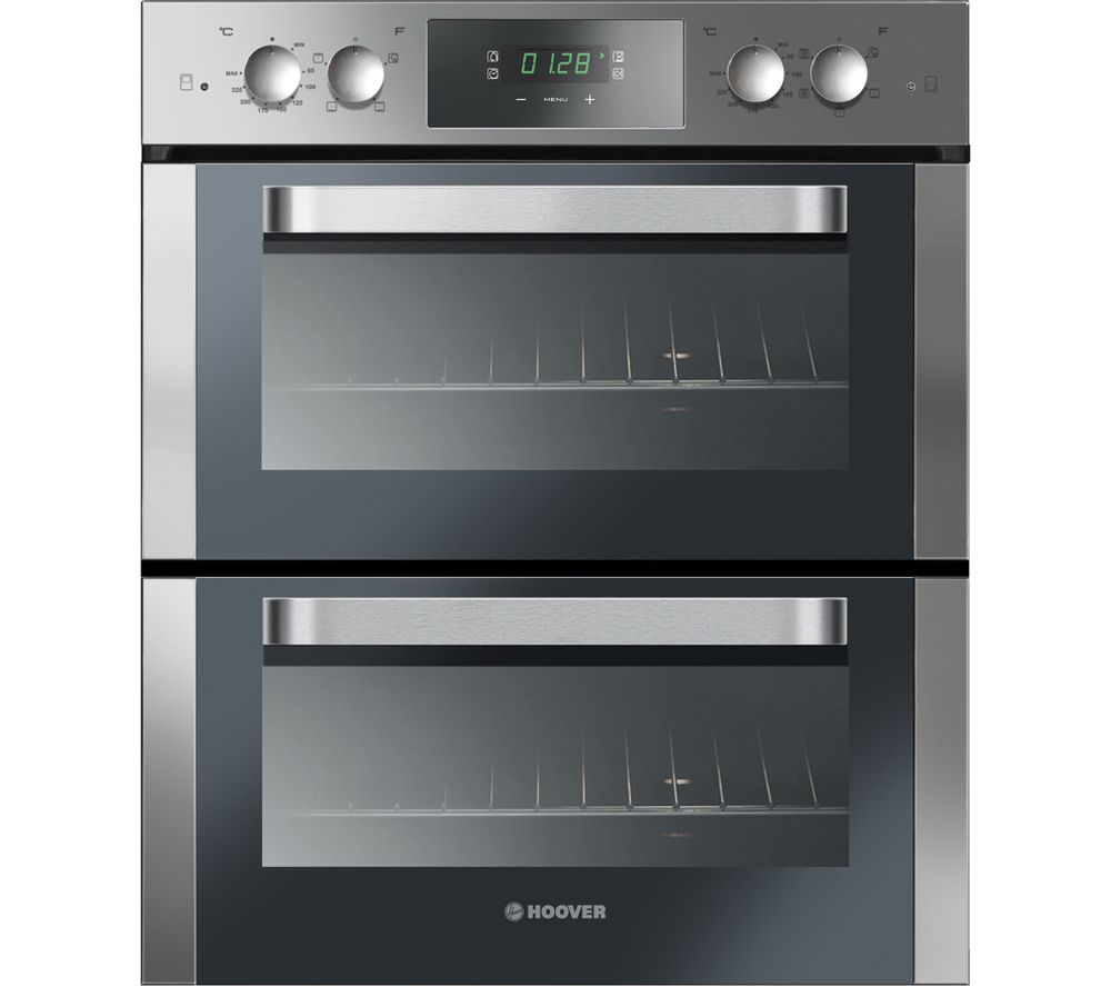 HOOVER HO7D3120IN Electric Built-under Double Oven - Stainless Steel