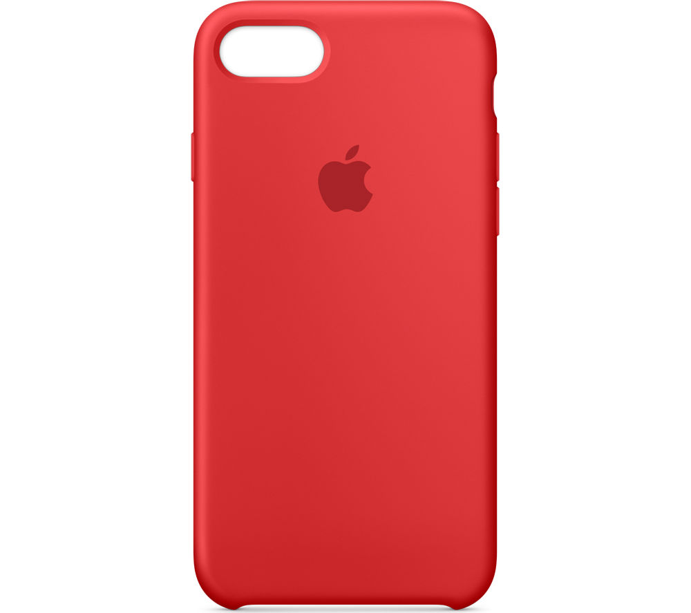 APPLE Silicone iPhone 7 Case - Red