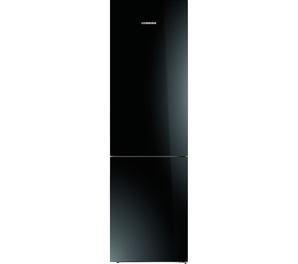 Image of LIEBHERR CBNPgb4855 Fridge Freezer - Black, Black