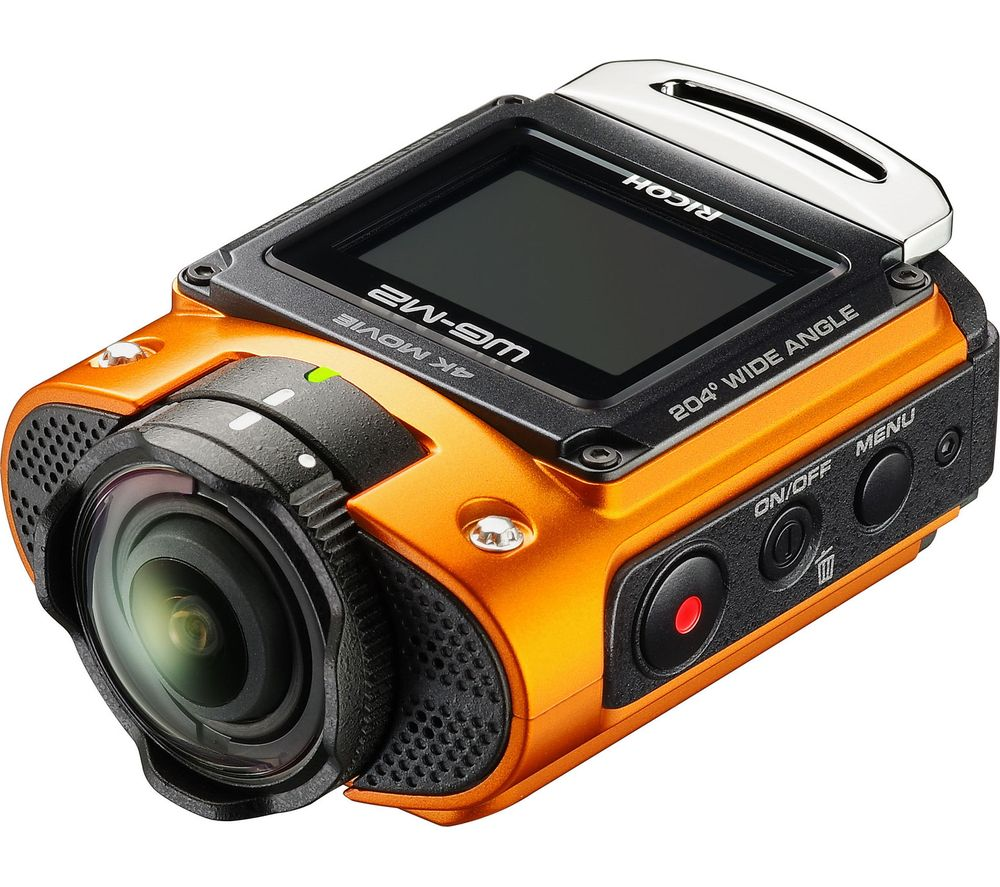RICOH WG-M2 4K Ultra HD Action Camcorder - Orange
