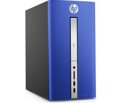 HP Pavilion 570-p057na Desktop PC - Blue