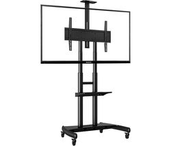 PROPER AVA1800-70-1P TV Stand with Bracket - Black