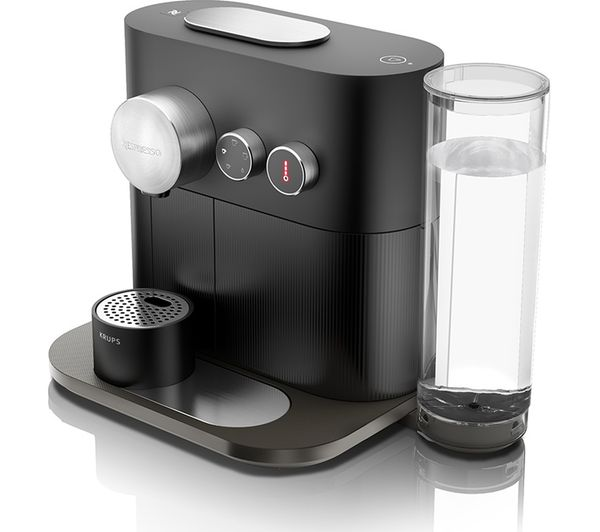 Buy nespresso by krups expert xn600840 smart coffee machine black free delivery currys - Machine a cafe krups nespresso ...
