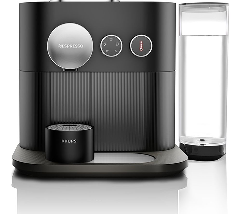 NESPRESSO by Krups Expert XN600840 Smart Coffee Machine  Black Black