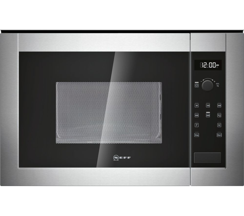 Buy Neff H11we60n0g Built In Solo Microwave Stainless