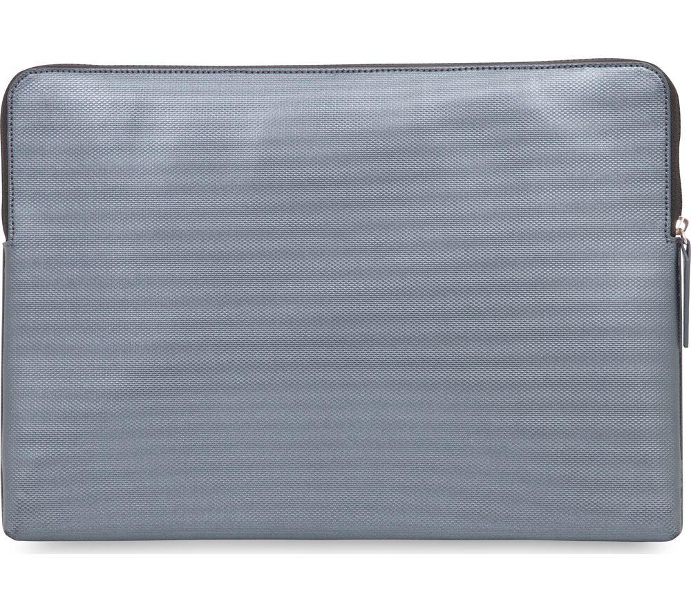 KNOMO Embossed 15 MacBook Pro Sleeve  Silver Silver