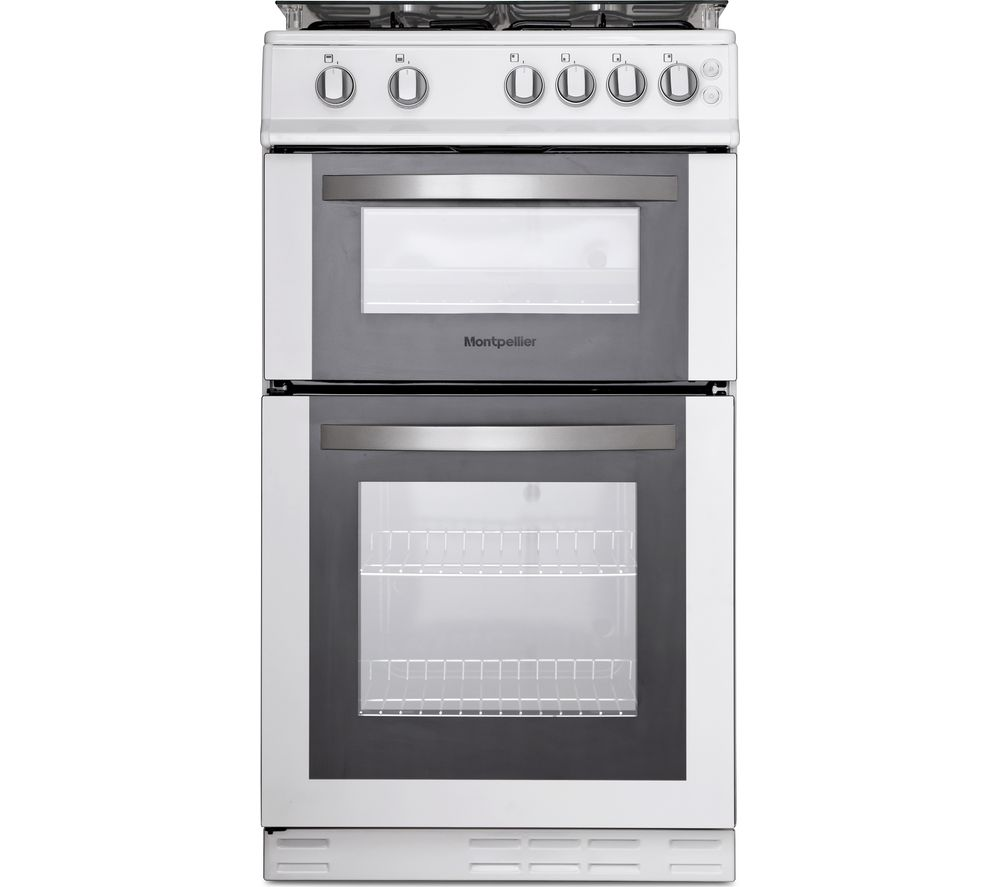 MONTPELLIER MDG500LW 50 cm Gas Cooker - White