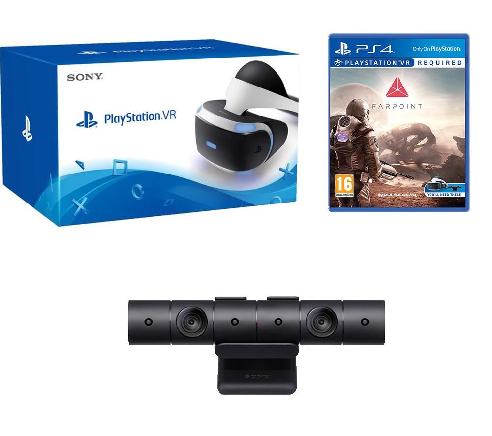 PLAYSTATION 4 VR Farpoint & Camera V2 Bundle