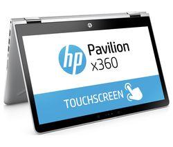 "HP Pavilion x360 14-ba055sa 14"" 2 in 1 - Silver"