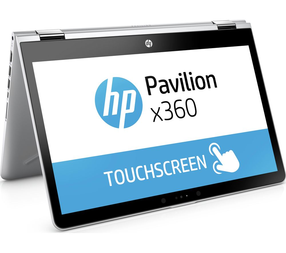 """HP Pavilion x360 14-ba055sa 14"""" Touchscreen 2 in 1 - Silver + Office 365 Personal"""