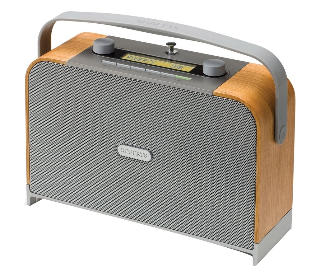 Click to view more of ROBERTS  Expression Portable DAB Radio - Grey, Grey