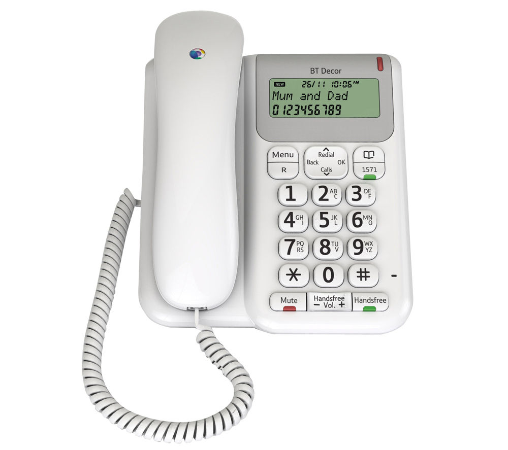 BT Décor 2200 Corded Phone