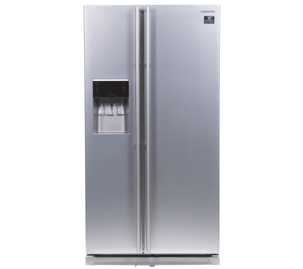 SAMSUNG RSA1UTMG American-Style Fridge Freezer - Metal Graphite