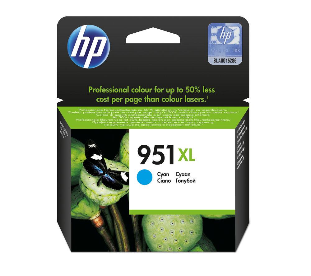 HP 951XL Cyan Ink Cartridge