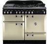 RANGEMASTER Elan 110 Dual Fuel Range Cooker - Cream