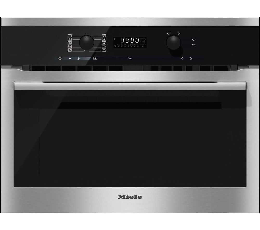 MIELE H6100BM Electric Oven & Microwave  - CleanSteel