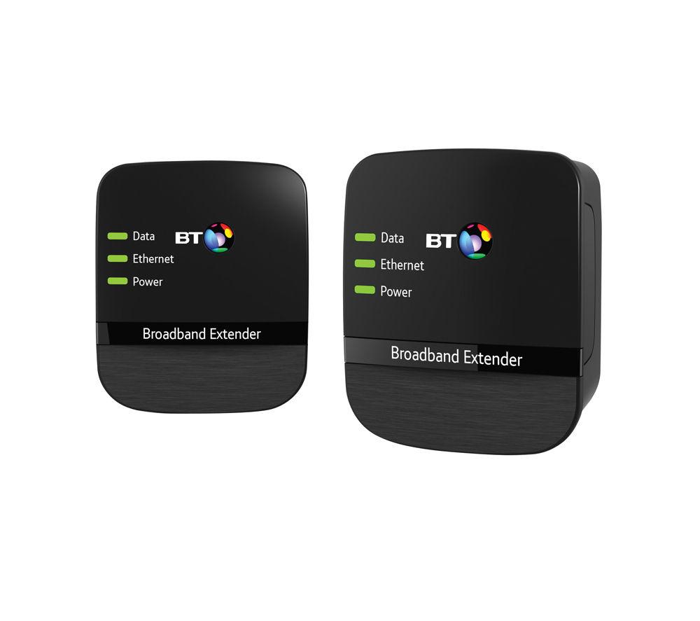BT Broadband Extender 500 Powerline Kit - Twin Pack