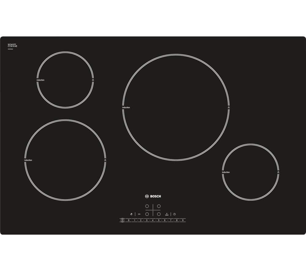 bosch pil811f17e induction hob black. Black Bedroom Furniture Sets. Home Design Ideas