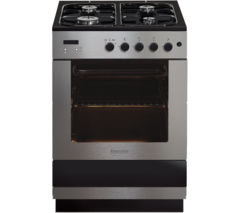 BAUMATIC BCG605SS Gas Cooker - Stainless Steel