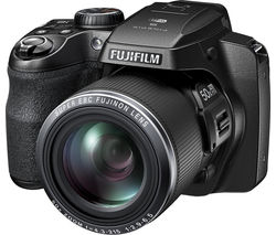 Fujifilm S9900W 16MP 1080p Digital SLR Camera with 24-120mm Lens with 50x Optical Zoom - Black