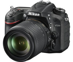 NIKON D7200 DSLR Camera with 18-105 mm f/3.5-5.6 Lens - Black
