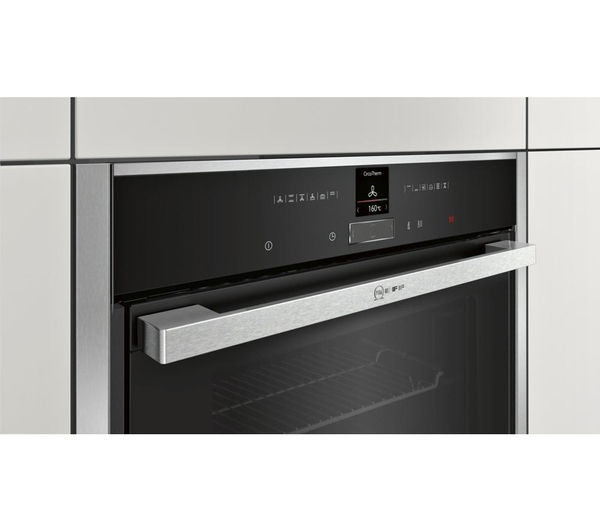 Buy neff b57cr22n0b electric oven stainless steel free delivery currys - Neff electric ...
