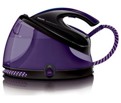 PHILIPS PerfectCare GC8650/80 Steam Generator Iron - Black & Purple