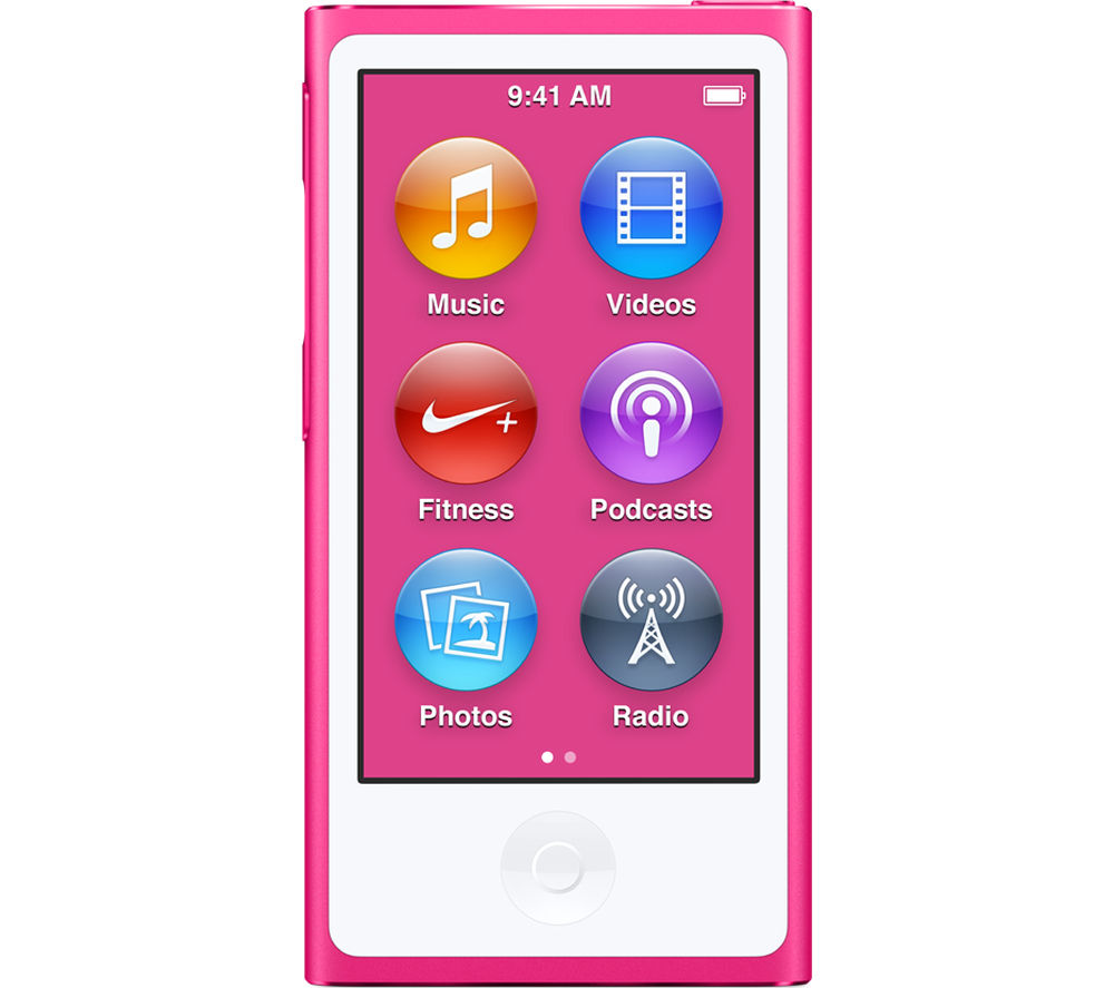 Image of APPLE iPod nano - 16 GB, 7th Generation, Pink, Pink