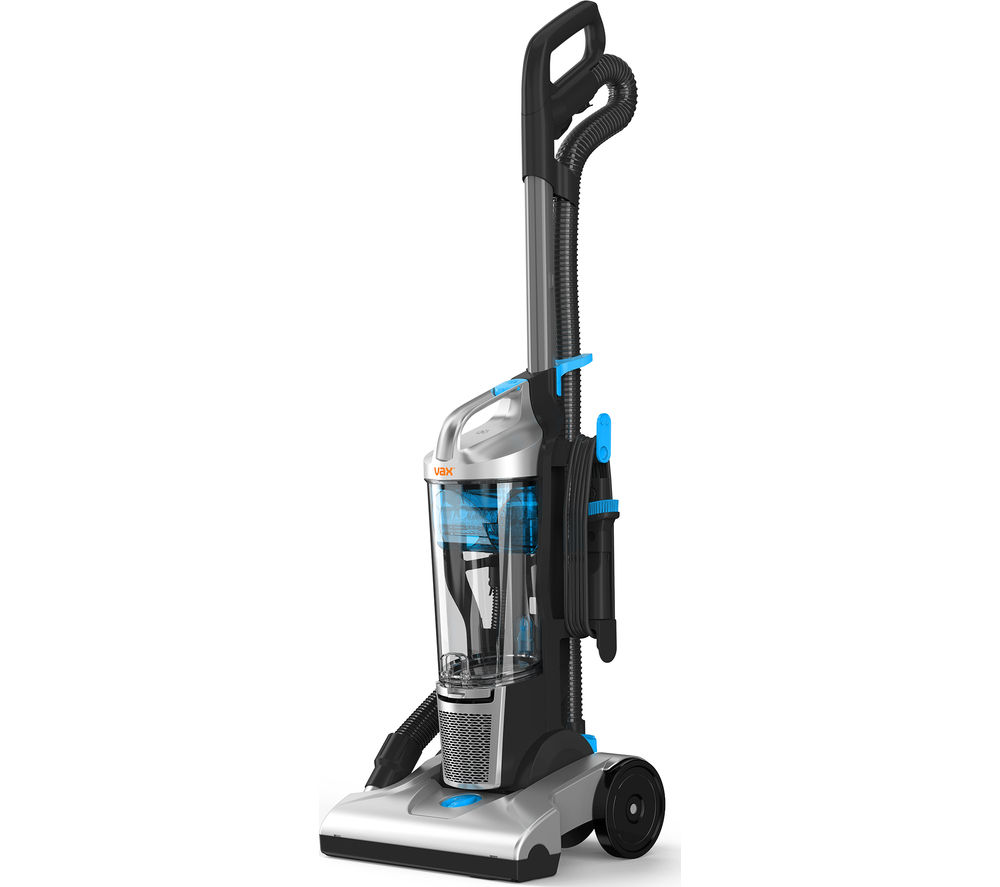 VAX  Power Pet U84M1Pe Upright Bagless Vacuum Cleaner  Blue & Silver Blue