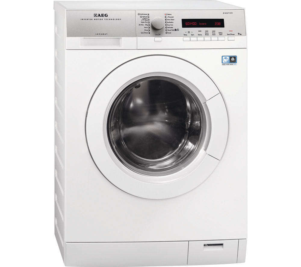 Image of AEG L76495FL2 Washing Machine - White, White