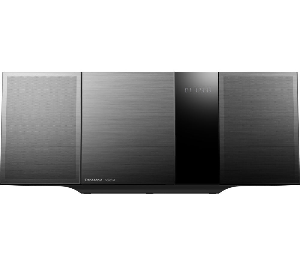 PANASONIC SC-HC397EB-K Wireless Flat Panel Hi-Fi System - Grey