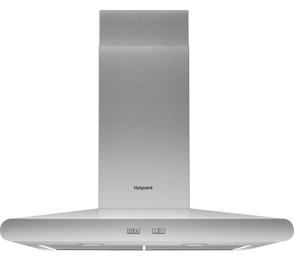 HOTPOINT  PHC6.7FLBIX Chimney Cooker Hood  Stainless Steel Stainless Steel