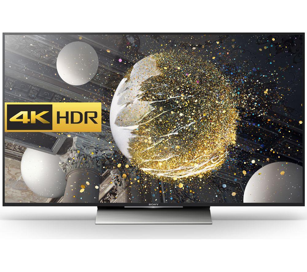 "Sony BRAVIA KD43XD8088BU Smart 4K Ultra HD HDR 43"" LED TV"